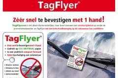 TagFlyer, ruitenwisser flyer, flyeren auto, ruitenwisser reclame