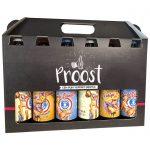 bierverpakkingen, bier verpakken, 6-pack golfkarton met handvat en venster